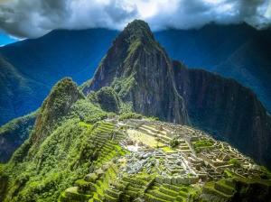 Machu Picchu en Perú (América Latina)