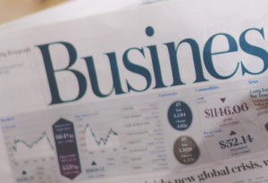 Newspaper specializing in business and economics