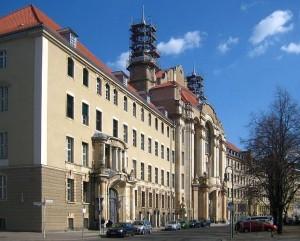 Fassade der Landgerichts Berlin in Berlin-Mitte, Littenstraße 12-17, 10179 Berlin