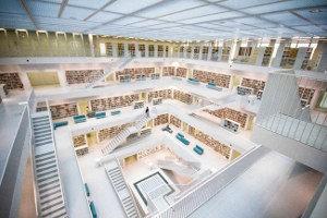 Stadtbibliothek Stuttgart in Deutschland